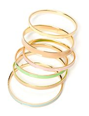 Friis & Company Skulk Bangle Set