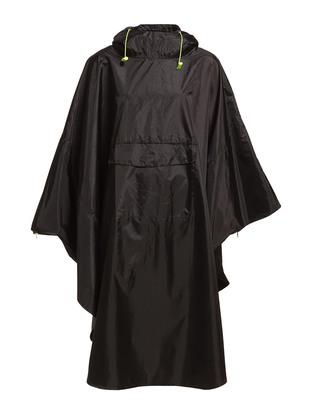 Bita Rain Coat - Black