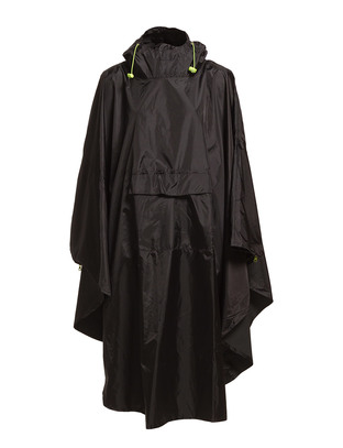Gita Rain Coat - Black