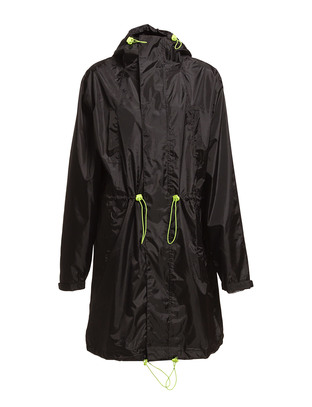 Mazz Rain Jacket - Black