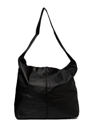Splended LeatherTote Bag - Black