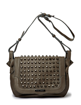 Splended Leather Shoulderbag - Grey