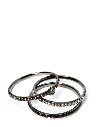 Folk Bracelet set - Gunmetal
