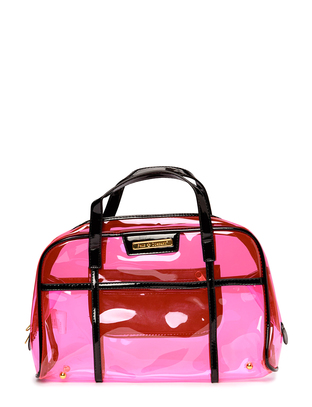 Friis & Company Ameno Clear Bag - pink