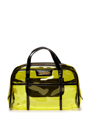 Ameno Clear Bag - Yellow