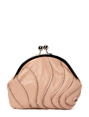 Friis & Company Liffey Clutch - Blush