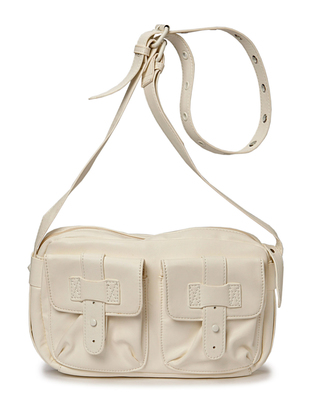 Friis & Company Fab Shoulderbag - White
