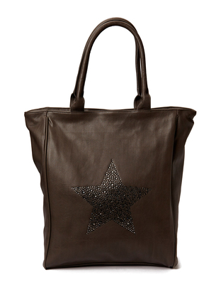 Ashy star Shopper - Grey