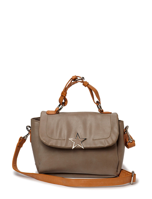Clam Shoulderbag - Taupe