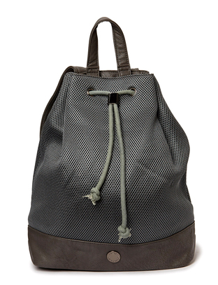 Jinx Mesh Backpack - Dark Grey