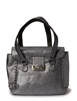 Splash Handbag - Silver