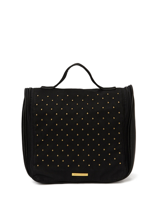 Flax Cosmetic Hang Bag - Black