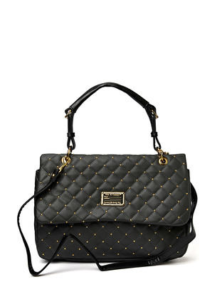 Hin Quilted Shoulderbag - Dark Grey