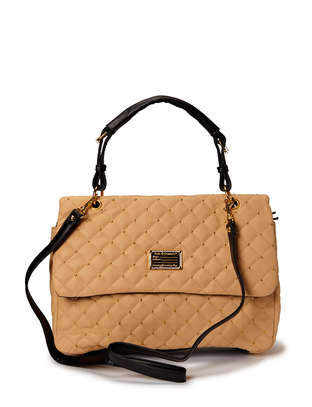 Hin Quilted Shoulderbag - Nude