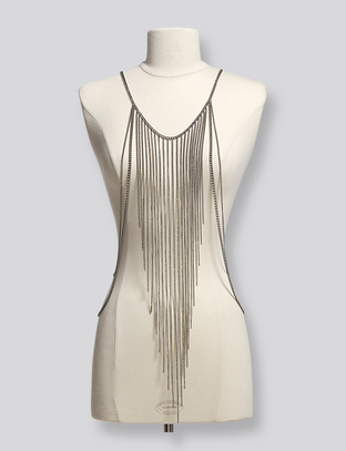 Galway Body Chain - Gunmetal