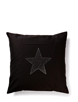 Cusago Star Pillowcase - Black