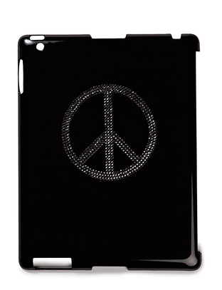 Peace iPad Case - Black