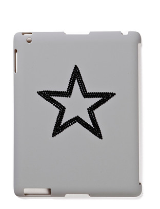 Star iPad Case - Gunmetal