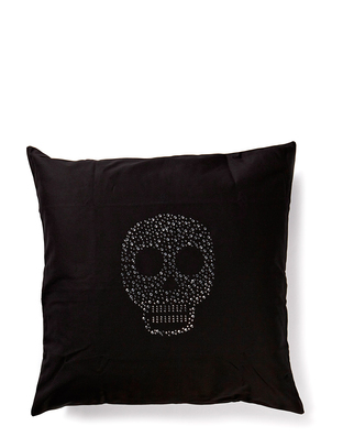 Cusago Skull Pillowcase - Black