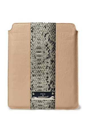 Lamb iPad Sleeve - Black