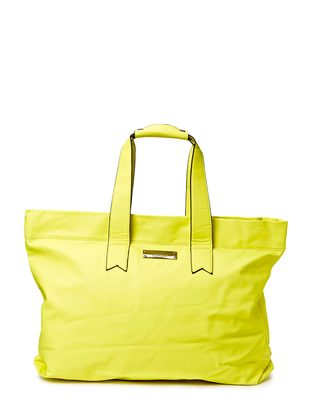 Friis & Company Bombay Shopper - Neon Yellow