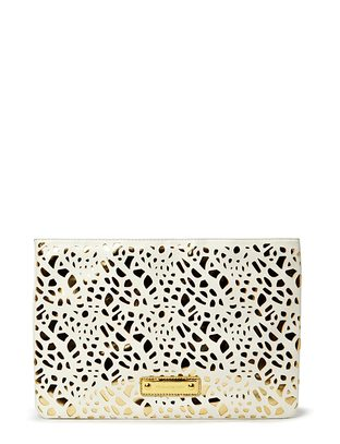 Burmeese Clutch - White