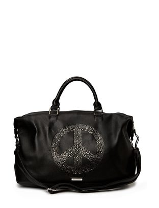 Ashy Peace Weekendbag - Black
