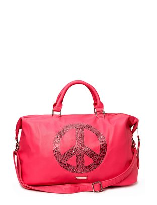Ashy Peace Weekendbag - Pink