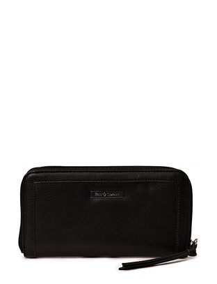 Ashy Peace Wallet - Black