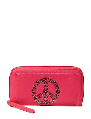 Ashy Peace Wallet - Pink