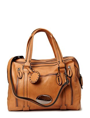 Slash Handbag - Camel