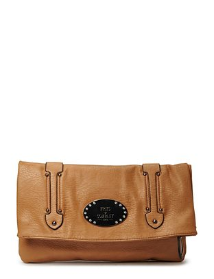 Friis & Company Slash Clutch - Camel