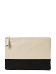 Stine Clutch - Black/White