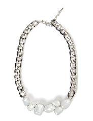 Lotte Necklace - White