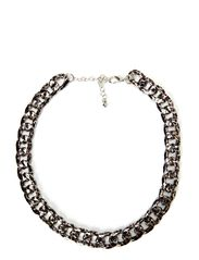 Steffi Necklace - Leopard