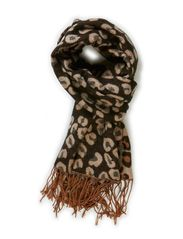 Nanna Scarf - Leopard Brown
