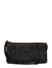 Amanda Clutch - Metallic Black