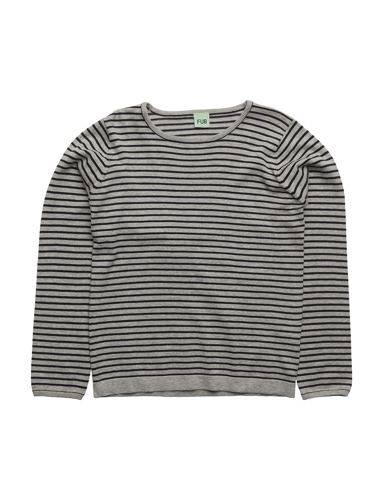 Striped Blouse FUB  til Børn i Navy blå