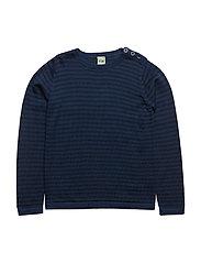 Thin Sweater - DARK BLUE/NAVY
