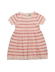 Baby Dress - BLUSH/RED