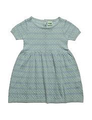 Baby Dress - OCEAN/DUSTY BLUE