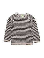 Baby Striped Blouse - ECRU/NAVY