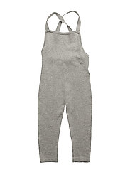 Baby Overalls - LIGHT GREY