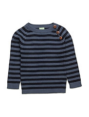 Baby Sweater - DENIM/NAVY