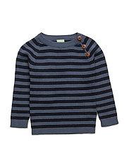 Baby Sweater - DENIM/NAVY