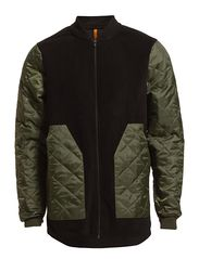 Quilt Fleece Arvid Jacket - Green