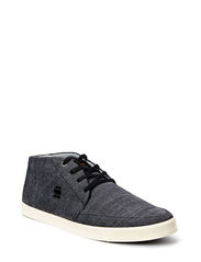 DASH Avery Hi II Denim - Black Heavy Chambrey