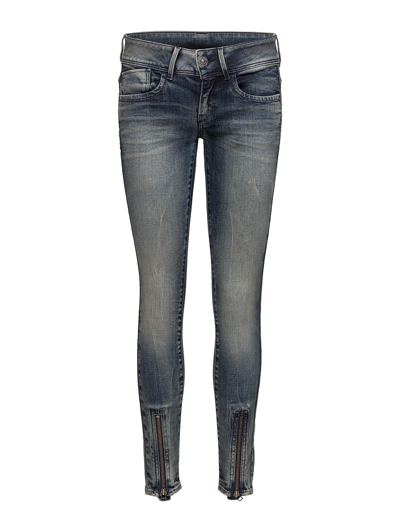 Lynn Zip Grip Mid Skinny Wmn G-star Jeans til Kvinder i