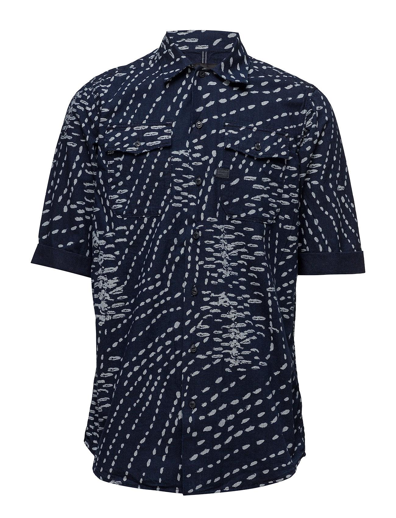 Landoh Straight Service Denim Shirt G-star Kortærmede til Herrer i