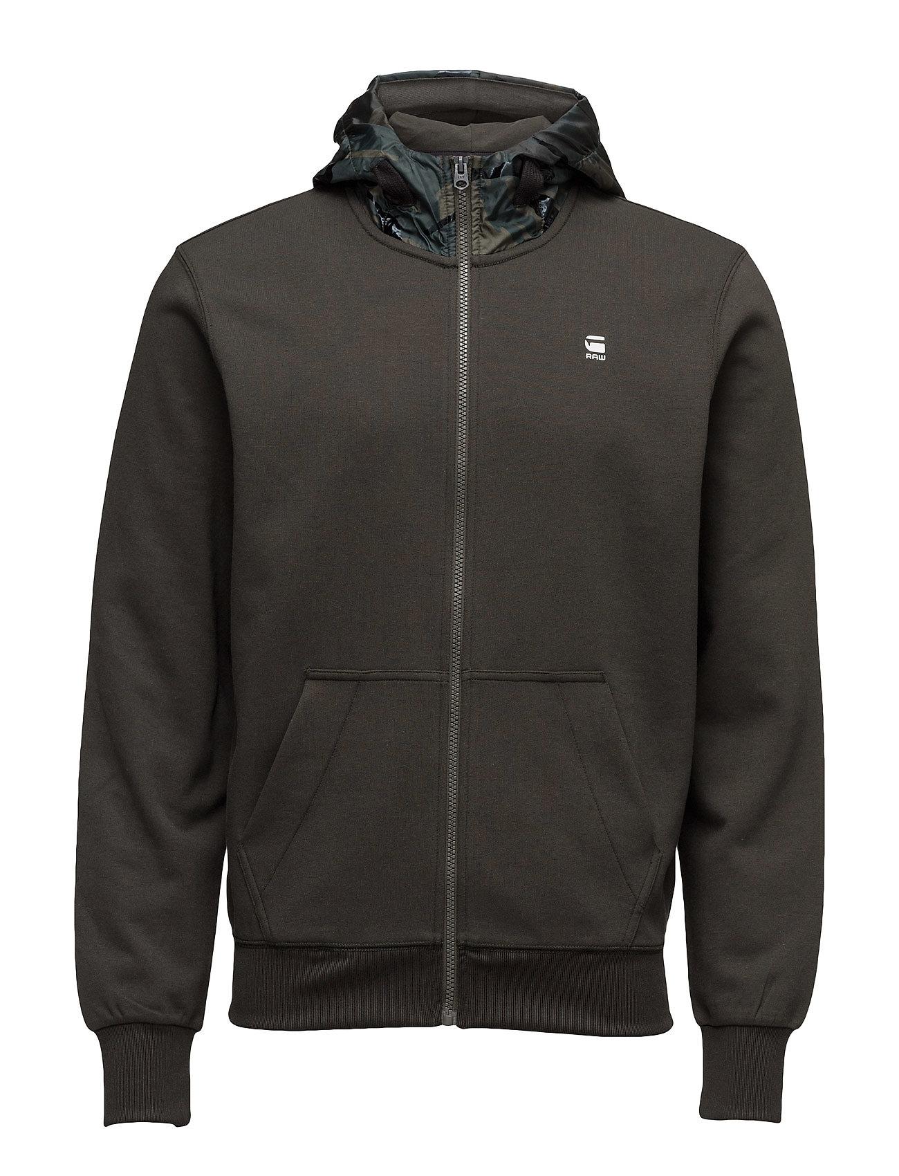 g-star – Core hooded zip sw l på boozt.com dk